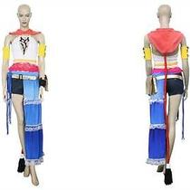 Final Fantasy Xii 12 Yuna Cosplay Uniform Customized Game Costume Photo