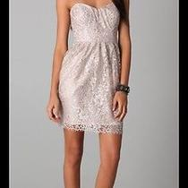 Final Price Drop Shoshanna Blush Sweetheart Lace  Dress Size 4 Photo