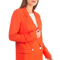 Finders Keepers Women's Size S Loose Double Breasted Blazer Jacket Photo