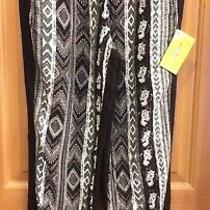 Finderskeepers Black and White Harem Pants Misses Size M Nwt  Made in the Usa Photo