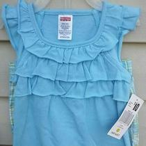 Fisher Price 2 Pc Outfit Set Blouse and Shorts for Infant/girls Size 12 Months  Photo