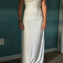 Fitted Ivory Formal Gown Photo