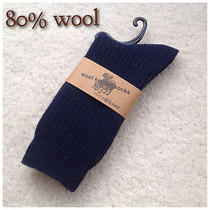 Five Pairs Men's Lambs Wool Socks for Autumn or Winter 40% Off Photo