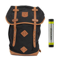 Fjallraven No. 21 Large Rucksack Black - With Free Portable Usb Charger Photo