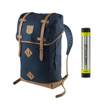 Fjallraven No. 21 Large Rucksack Navy - With Free Portable Usb Charger Photo