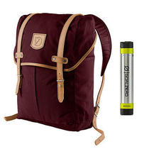 Fjallraven No. 21 Md Rucksack Dark Garnet - With Free Usb Charger Photo