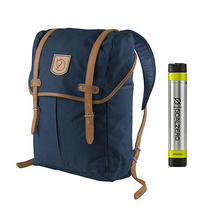 Fjallraven No. 21 Md Rucksack Navy - With Free Portable Usb Charger Photo