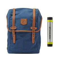 Fjallraven No. 21 Md Rucksack Uncle Blue - With Free Portable Usb Charger Photo
