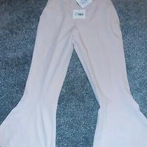 Flared Hem Pants Culottes Trousers Size 8 Blush Pink Missguided New With Tags Photo