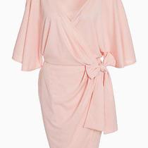 Flattering Aq/aq Nude Blush Wrap Dress (Us 2 Uk 6). Brand New With Tags Photo