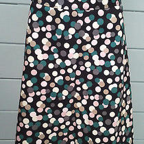 Flirty H & M Polka Dot Pop Spot a-Line Short Skirt Us 6 Eur 36  Photo