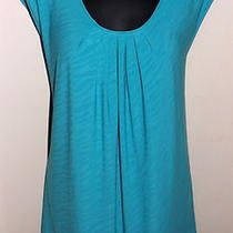 Flirty Tiger Stripe Aqua Maggie Barnes Plus Tank Top - 3x Photo
