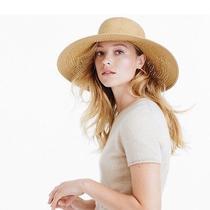 Floppy Beach Straw Hat Photo