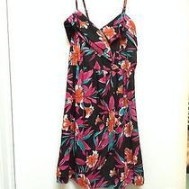 Floral Billabong Dress Size Medium Photo