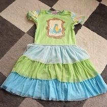 Floral Bird Ombre Tutu Baby Lulu Dress Designer Erin Murphy 6  Photo