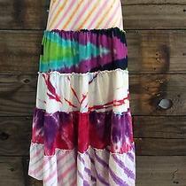 Flowers by Zoe Large Girls Tie Dye Soft Skirt Long Photo