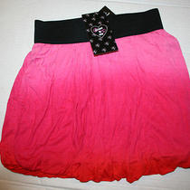 Flowers by Zoe Pink Orange Tie Dye Bubble Skirt Sz M New With Tags Nwt Photo