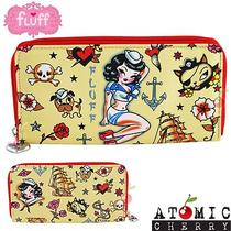 Fluff Wallet Suzy Sailor Purse Rockabilly Punk Alternative Pin Up Tattoo Flash Photo