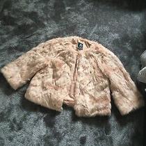 Fluffy Teddy Coat Blush Pink Size 12 Bnwt  Photo