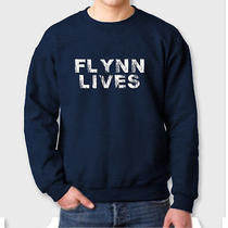 Flynn Lives Comic Con Funny Arcade Dvd Game Movie Legacy Crew Neck Sweatshirt Photo