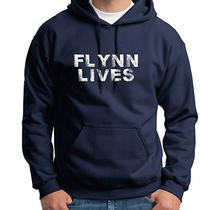 Flynn Lives Comic Con Funny Arcade Dvd Game Movie Legacy Hoodie Photo