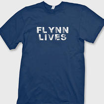 Flynn Lives Comic Con Funny Arcade Dvd Game Movie Legacy Tee Shirt Photo