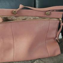 Foleycorinna Dione Satchel Handbag Purse Blush Pink Dusty Rose Gold Zipper Htf  Photo