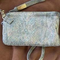 Foley  Corinna Metallic Small Leather Shoulder Bag Photo