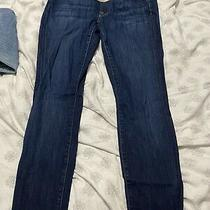 For All Mankind Maternity Jeans - Blue Jeans Skinny - Size 30 Pre-Owned Photo