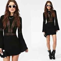 For Love and Lemons Zoey Dress in Black (M) Brand New With  Tags Photo