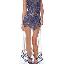 For Love & Lemons Antigua Maxi Dress in Sapphire(xs)holiday Collection Photo