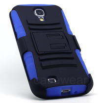 For Samsung Galaxy S4 Iv I9500 Rhino Holster Combo Stand Hard Case  Stylus Photo