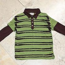 Fore Axel & Hudson Boys Golf Club Driver Long Sleeve 2-Fer Polo / Size 4t Euc Photo