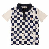 Fore Axel & Hudson Checker Board Print Polo Photo