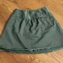 Forest Green Fossil Skirt W. Pocket Size 2 Photo