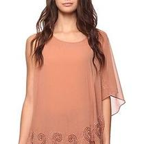 Forever 21 Beaded Asymmetrical One Sholder Top Dusty Rose Lulu Photo