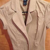 Forever 21 Beige Vest Medium Photo