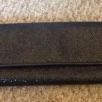 Forever 21 Black Glitter Sparkle Clutch Holidays Holiday Party Photo