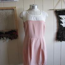 Forever 21 Blush and Ivory Color Blocked Dress Sz M Photo