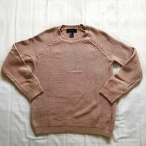 Forever 21 Blush Pink Knit Fall Winter Sweater Small Photo