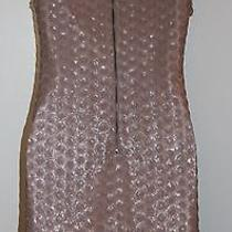 Forever 21 Blush Sequin Dress Size Small Photo