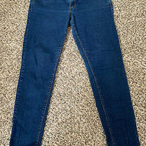 Forever 21 Denim Skinny Blue Jeans  Dark Wash Stretch Sz 30 Photo