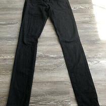 Forever 21 Denim Skinny Jean Black Size 25 Photo
