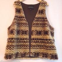 Forever 21 Faux Fur Winter Vest Plus Size 1x Fully Lined New Without Tags Photo