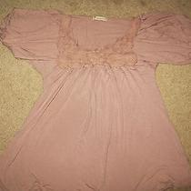 Forever 21 Floral Neckline Top Size Small Last Relist Photo