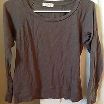 Forever 21 Gray Taupe Sweatshirts Size Small Photo