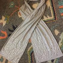 Forever 21 Grey Jersey Studded Silver Scarf Photo