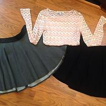 Forever 21 & Guess Skirts / Top Sz 8 29 M  Photo