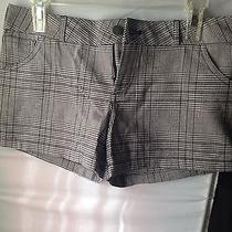 Forever 21 H M Zara F21 Plaid Shorts Size M  Photo