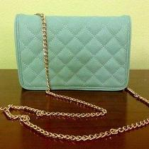 Forever 21 Handbag Tiffany Blue Quilted Photo